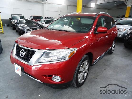 2014 Nissan Pathfinder Exclusive 4WD TA