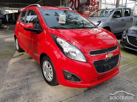 Autos Camionetas Y 4x4s Usados Chevrolet Rojos Spark Classic Con