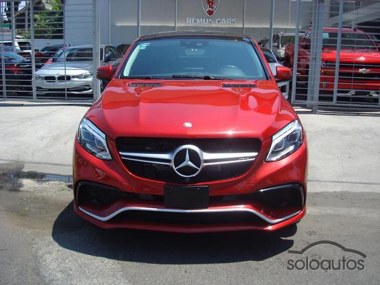 2017 Mercedes-Benz Clase GLE Coupe Mercedes-AMG GLE 63 Coupe