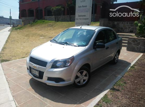 2015 Chevrolet Aveo M LS, Manual con A/A, sin radio