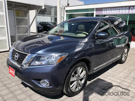 2015 Nissan Pathfinder Exclusive 4WD TA