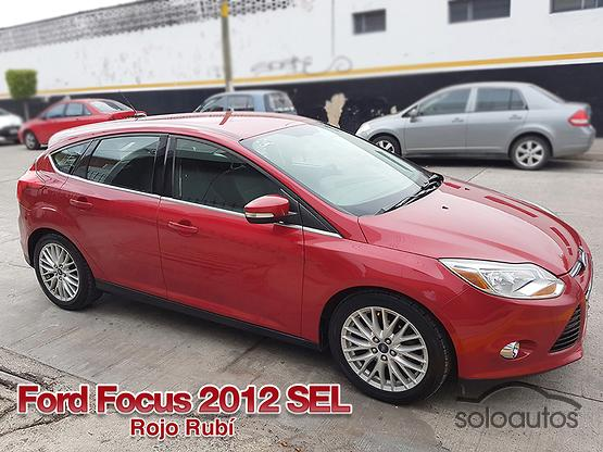 2012 Ford Focus SEL AT 5Ptas.