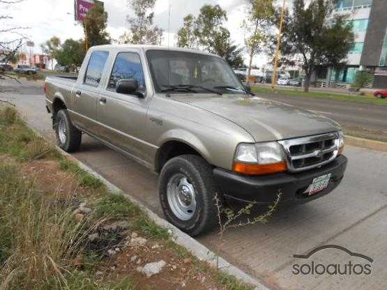 2002 FORD Ranger Doble Cabina,XL Clima