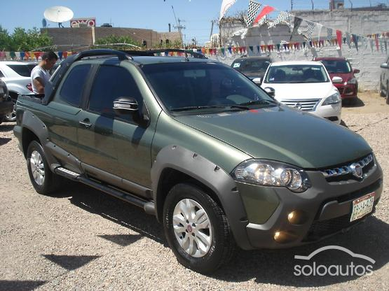 2013 FIAT Strada Adventure Cabina Doble Locker