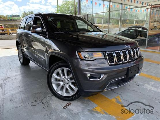 2017 Jeep Grand Cherokee Limited Lujo V6 4x2