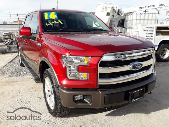 2016 Ford Lobo Lariat Crew Cab 4x4 CON SPRAY-IN BEDLINE