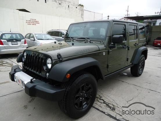2015 Jeep Wrangler Unlimited Willys Wheeler 4x4 TA