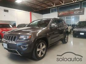 2014 Jeep Grand Cherokee Limited Lujo V6 3.6 4X2