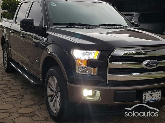 Autos Camionetas Y 4x4s Ford En Color Negro Con Pick Up 6 Cilindros En Venta En Mexico Soloautos Mx