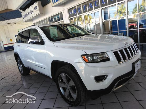 2015 Jeep Grand Cherokee Limited Lujo V6 3.6 4X2