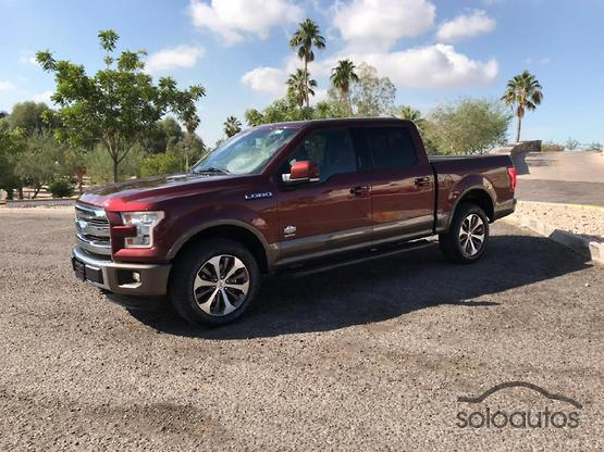 2016 Ford Lobo King Ranch Crew Cab 4x4