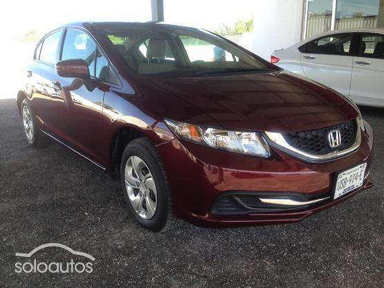 2015 Honda Civic LX AT 4 drs