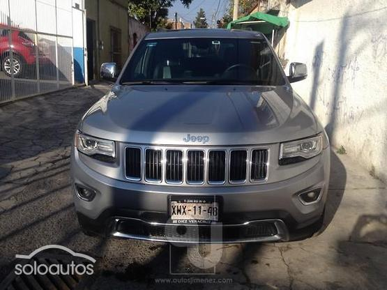2016 Jeep Grand Cherokee Limited Lujo V6 4x2