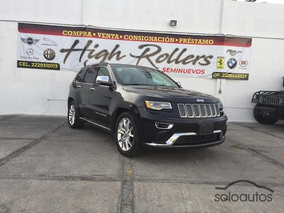 2016 Jeep Grand Cherokee Summit V8 4x4